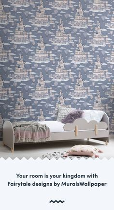 Style a beautifully enchanted room for your little one with this magical collection of fairytale wallpaper, perfect for bedrooms.