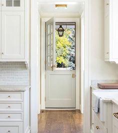entrance in kitchen