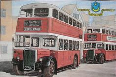 Post Card of Portsmouth Buses Portsmouth England, Post Card, Coaches, Buses, Old Photos, Jazz, Cities, Dance, History