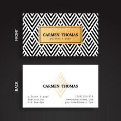 72 Best Visiting Card Designs Byteknightdesign Net Images On