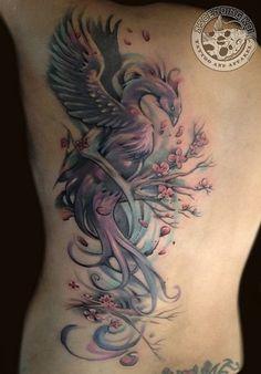 Magische Phönix Tattoos