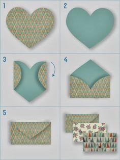 DIY: Sobres Handmade para las Notas de Agradecimiento en la Boda: