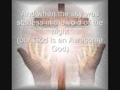 our god is an awesome god lyrics pdf