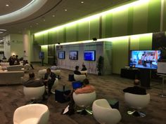 Networking lounge seen at Heart Rhythm Society's Annual Scientific Sessions #HRS2014.  May 2014