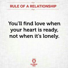 When it's ready not when it's lonely