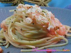 Aglio, olio, peperoncino e gambero al lime #ricette #food #recipes