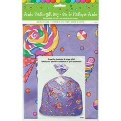Jumbo Plastic Candy Party Gift Bag