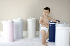 Your diaper pail can coordinate with your nursery when you choose one of @ubbiworld's many colors! It should blend right in!