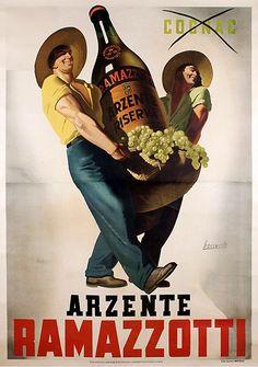 1940  Gino BOCCASILE _ Ramazzotti
