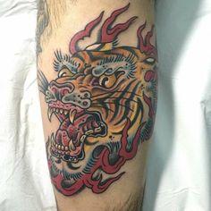 Delfoco - Tatuaje Tigre
