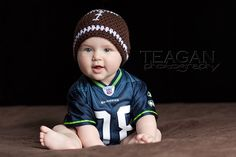 Baby football Seattle Seahawks