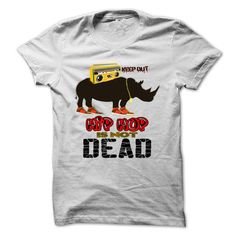 Hip Hop Is Not Dead Rhino - #movie t shirts #white hoodies. HURRY:   => https://www.sunfrog.com/Music/Hip-Hop-Is-Not-Dead-Rhino-Ladies.html?id=60505