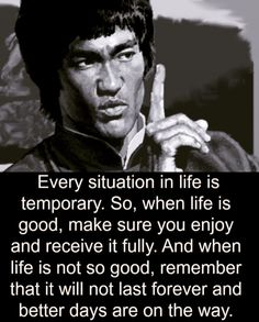Some Words by Bruce Lee Wise Quotes, Quotable Quotes, Great Quotes, Quotes To Live By, Happy Quotes, Fitness Workouts, Fitness Motivation, Quotes Motivation, Positive Motivation