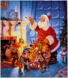 Scott Gustafson Christmas | Scott Gustafson Santa