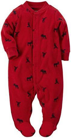 Carter's Baby Boys' Print Footie (Baby) - Moose - 6 Months Carter's http://www.amazon.com/dp/B013SLPEZI/ref=cm_sw_r_pi_dp_QAtuwb0WX6SSC
