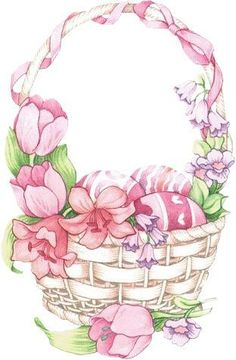 papers.quenalbertini: Vintage Easter Basket | facilisimo
