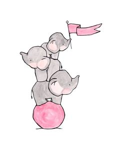 easy to draw cute elephant girl nursery ideas elephants how to draw - elephant drawing Elephant Wallpaper, Iphone Wallpaper, Cute Drawings, Animal Drawings, Baby Elefant, Whatsapp Wallpaper, Cute Elephant, Baby Art, Watercolor Illustration
