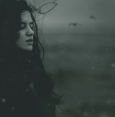 This year's first snow by Olia Pishchanska, via Beautiful. Story Inspiration, Writing Inspiration, Character Inspiration, Sea Witch, First Snow, Dark Fantasy, White Photography, Portrait Photography, Female Characters