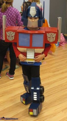 Optimus Prime - Halloween Costume Contest
