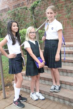 Girls grades uniforms school wear, school uniform girls и pleated schoo School Wear, School Uniform Girls, Girls Uniforms, School Outfits, Girls School, School Uniforms, Pleated School Skirt, Pleated Skirt, Highschool Freshman