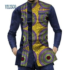 African Wear Styles For Men, African Shirts For Men, African Attire For Men, African Clothing For Men, Traditional African Clothing, African Style, Nigerian Men Fashion, African Print Fashion, Africa Fashion