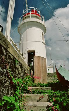 Vigie Lighthouse - St. Lucia.  The people at Vigie Lighthouse are wonderful!  Efficient, caring and extremely helpful in an emergency!  Thank you for your assistance back in 1987-88!!