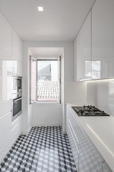 Cozinha na Lapa - João Morgado - Fotografia de arquitectura   Architectural Photography Kitchen Interior, Kitchen Design, Luxury Kitchens, Minimalist Decor, Interior Design Inspiration, My House, Living Spaces, New Homes, Room