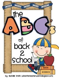 The ABC's of Back 2 School: