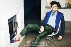 [OFFICIAL] 2PM Nichkhun – I'M DAVID in China Menswear Spring 2014 CF ⓒimdavid官微 http://weibo.com/imdavidchina