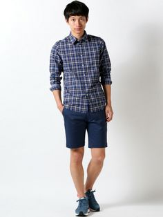Abahouse , ポプリンチェック / Checkered Shirt on ShopStyle