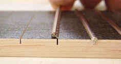 Making the fretboard