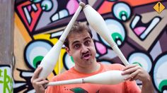 sexy juggling - 3 clubs - Marcelo Mamute
