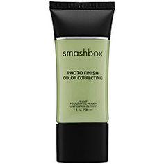 Smashbox Photo Finish Color Correcting Foundation Primer in Color Adjust - green - minimizes redness #sephora