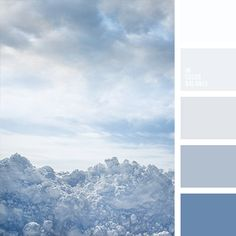 Color palettes 223068987779866065 - Monochrome dark blue color palette reminds of mystery of the sky before a thunderstorm. Transition from deep dark blue color to pure white is contrast and Source by jarbonnette Pastel Palette, Blue Colour Palette, Pastel Colors, Color Azul, Blue Color Pallet, Design Seeds, Room Colors, House Colors, Paint Color Schemes