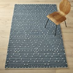 Shop Orville Light Grey Rug. Plush loops of grey and ivory reveal a subtle diamond pattern in nubby knots. High and cushy underfoot, pile is extra dense for a super-soft feel.