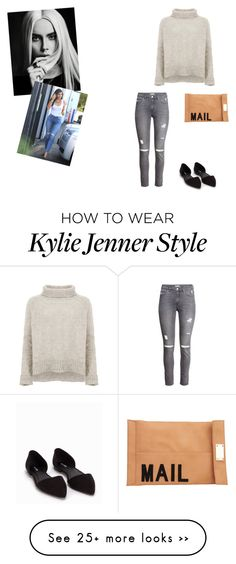 """""""fall"""" by vilovi on Polyvore featuring American Vintage, H&M, Akira, Nly Shoes and 7 For All Mankind"""