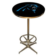 The Carolina Panthers Pub Table is a fantastic pub table for Panthers Fan Caves and Game Rooms!