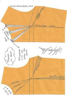 Best 12 Dress pattern diy vestidos 56 ideas for 2019 Dress Sewing Patterns, Blouse Patterns, Sewing Patterns Free, Sewing Tutorials, Clothing Patterns, Sewing Hacks, Skirt Patterns, Dress Tutorials, Coat Patterns