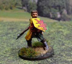 28mm Hard plastic figure painted by Bob Hornsby. This is William Marshall the 1st Earl of Pembroke (1146-1219)
