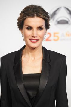 Queen Letizia of Spain attended to Antena3's 25th anniversary party at Palacio de Cibeles on 29.01.2015 in Madrid