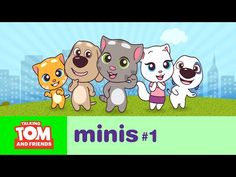 Talking Tom and Friends Minis ep.1 - The Big Move - YouTube