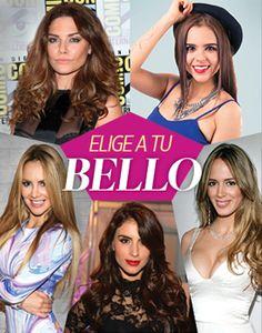 Elige a tu Bello - 5 candidatas