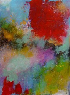 Acrylmalerei - Abstrakte Kunst Abstrakte Malerei Landschaft - ein Designerstück von CelineOriginalArt bei DaWanda