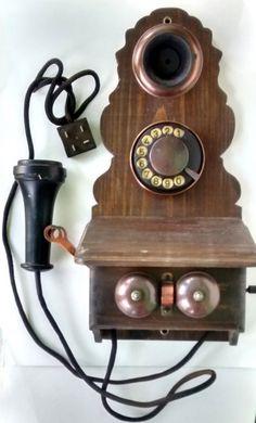 EXUBERANTE TELEFONE EM MADEIRA. NO ESTADO...