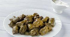 Ντολμαδάκια γιαλαντζί Almond, Greek, Meat, Recipes, Food, Kitchens, Recipies, Essen, Almond Joy