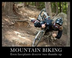 moutain biking thumbs WWW.RICARDOSAMUDASINCLAIR.COM