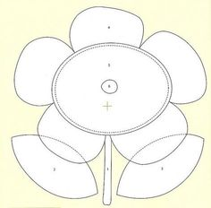 Flor - molde