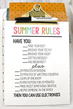 Rules Printable Summer Rules - help get kids on track and stay off electronics.Printable Summer Rules - help get kids on track and stay off electronics. Rules For Kids, Chores For Kids, Summer School, Summer Kids, Pink Summer, Kids And Parenting, Parenting Hacks, Single Parenting, Kids Schedule