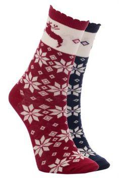 Rahat kalıbı ve düz modeli ile ayağınızı rahat ettirecek 2'li DeFacto bayan çorap.
