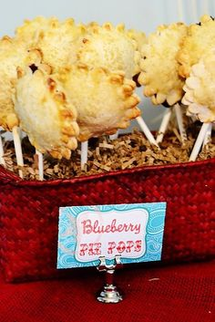 These blueberry pie pops look great!